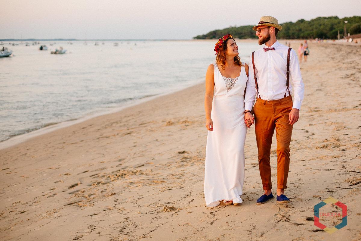 Un mariage aux couleurs tropicales à Arcachon